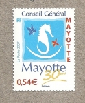 Stamps Africa - Mayotte -  Cnsejo general