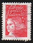 Stamps Europe - France -  Liberté, égalité, fraternité