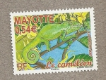 Stamps Africa - Mayotte -  Camaleón