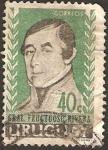 Stamps : America : Uruguay :  general fructuoso rivera