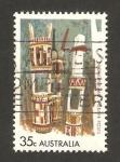Stamps Australia -  instrumentos nativos
