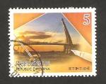 Stamps Asia - Taiwan -  puente sobre un rio