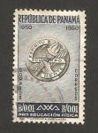 Stamps Panama -  pro educación física