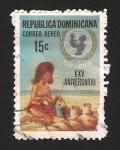 Sellos de America - Rep Dominicana -   XXV anivº de UNICEF