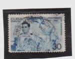 Sellos de America - Cuba -  levantamiento de cienfuegos