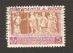 Stamps Uruguay -  monumento al escritor jose henrique rodo