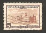 Stamps : America : Uruguay :  palacio legislativo
