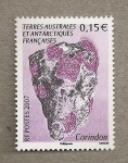 Stamps Europe - French Southern and Antarctic Lands -  Mineral Corindon