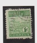 Stamps Cuba -  cultivo de tabaco