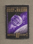 Stamps Russia -  Satélite indio Ariyabata