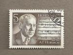 Stamps Russia -  A.G. Novikov, compositor