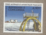 Stamps Europe - French Southern and Antarctic Lands -  Astronomia en la base Concordia