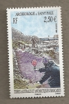 Stamps Europe - French Southern and Antarctic Lands -  Arqueología en Sn Pablo