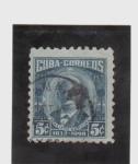 Sellos de America - Cuba -  calixto garcia-1832-1898