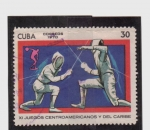 Stamps Cuba -  XI juegos centroamericanos y del caribe