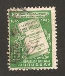 Stamps Uruguay -  centº del nacimiento de jose pedro varela, escritor