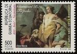 Sellos de Africa - Guinea Ecuatorial -  Anivº nacimiento de Giovanni Battista Tiépolo - pintor y grabador