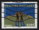 Sellos de Europa - Francia -  La memoria compartida