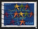 Sellos de Europa - Francia -  50 Aniversario - Tratado de Roma