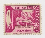 Stamps Peru -  Balcón San Lorenzo
