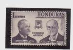 Sellos de America - Honduras -  conmemorativo 18 de noviembre de 1960