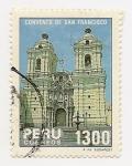 Sellos de America - Perú -  Día del Turismo (Convento San Francisco)