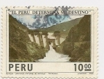 Sellos de America - Perú -  El Perú determina su destino