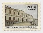 Stamps : America : Peru :  Centro de altos Estudios Militares