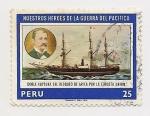 Stamps Peru -  Nuestros Héroes de la guerra del Pacífico