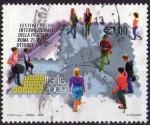 Sellos del Mundo : Europa : Italia :  Festival internacional de filatelia en Roma