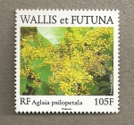 Stamps Oceania - Wallis and Futuna -  Aglaia psilopetala