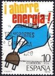 Sellos de Europa - España -  2510 Ahorre Energía. Electricidad.