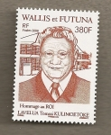 Stamps Oceania - Wallis and Futuna -  Rey Lavelua