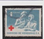 Sellos de America - Honduras -  la cruz roja