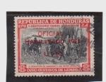 sellos de America - Honduras -  V cent. isabel la catolica