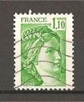 Sellos de Europa - Francia -  Nueva Marianne./ Sabine.