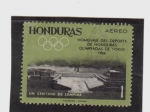 sellos de America - Honduras -  olimpiadas de tokio 1964