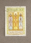 Stamps Chile -  Navidad