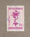 Stamps America - Dominican Republic -  Liga dominicana contra el cáncer
