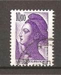 Sellos de Europa - Francia -  Libertad de Delacroix.