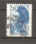 Stamps France -  Libertad de Delacroix.