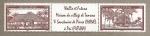 Stamps Wallis y Futuna -  Casa del pueblo de Tamana y Santuario Pierre Chanel