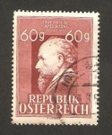 Stamps Austria -  friedrich amerling
