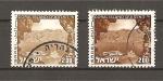 Sellos de Asia - Israel -  Paisajes de Israel.