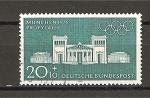 Stamps Germany -  Juegos Olimpicos de Munich. / 1972.