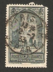 Stamps France -  catedral de reims