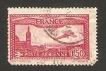 Stamps : Europe : France :  avión sobrevolando Marsella