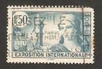 Stamps France -  336 - Exposición internacional de París