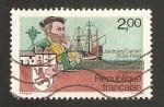 Sellos del Mundo : Europa : Francia :  Jacques Cartier, 450 anivº de su primer viaje a Canada