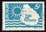Stamps Uruguay -  Uruguay pais de turismo
